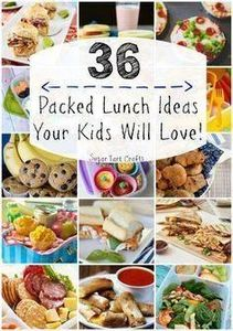 36 Packed Lunch Ideas Your Kids Wi - 300 Bento Box Recipes - RecipePin.com