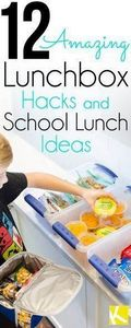 12 Amazing Lunchbox Hacks & Sc - 300 Bento Box Recipes - RecipePin.com