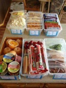 Set up bins weekly, kids choose th - 300 Bento Box Recipes - RecipePin.com