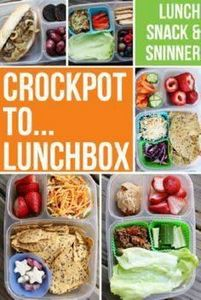 Crockpot to Lunchbox Round-up @Eas - 300 Bento Box Recipes - RecipePin.com