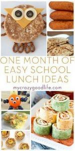 One month of easy school lunch ide - 300 Bento Box Recipes - RecipePin.com