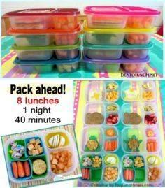 BentoLunch.net - pack lunches ahea - 300 Bento Box Recipes - RecipePin.com