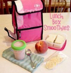 Lunch Box Smoothies! - 300 Bento Box Recipes - RecipePin.com