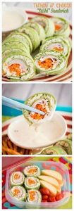 These easy sushi sandwiches made w - 300 Bento Box Recipes - RecipePin.com