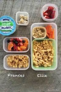 Frances: soy milk yogurt, 1 cup fr - 300 Bento Box Recipes - RecipePin.com
