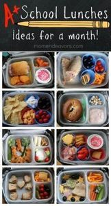 A month of school lunch ideas! - 300 Bento Box Recipes - RecipePin.com