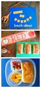 Fun Back to School Kids Lunch Idea - 300 Bento Box Recipes - RecipePin.com