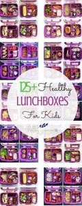 125+ Healthy Lunchboxes for Kids - - 300 Bento Box Recipes - RecipePin.com