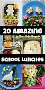 20 Amazing School Lunches for Kids - 300 Bento Box Recipes - RecipePin.com