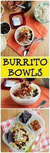 Lunch Box Burrito Bowls - 300 Bento Box Recipes - RecipePin.com