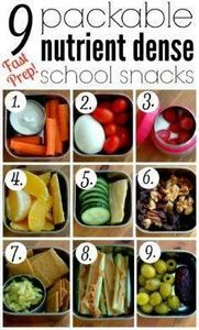 9 Packable Nutrient Dense School S - 300 Bento Box Recipes - RecipePin.com