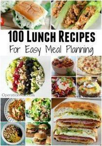 100 Lunch Recipes For Meal Plannin - 300 Bento Box Recipes - RecipePin.com