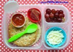 10 Easy Lunch Box Ideas...this piz - 300 Bento Box Recipes - RecipePin.com