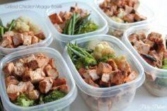 Grilled Chicken & Veggie Bowls - 300 Bento Box Recipes - RecipePin.com