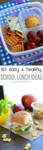50 Easy & Healthy Lunch Ideas. - 300 Bento Box Recipes - RecipePin.com
