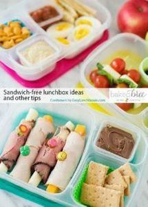 Sandwich Free Lunch Box Ideas and  - 300 Bento Box Recipes - RecipePin.com