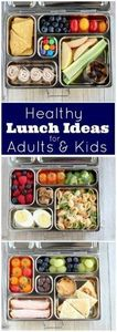 Healthy Lunch Ideas for Kids and A - 300 Bento Box Recipes - RecipePin.com