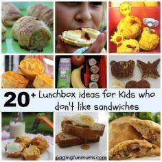 20+ Lunchbox Ideas for kids who do - 300 Bento Box Recipes - RecipePin.com