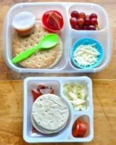 These Pizza Lunchables are healthy - 300 Bento Box Recipes - RecipePin.com