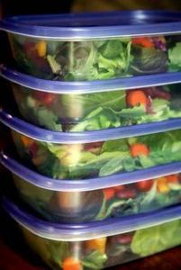 How to Pack a Week of Salads That  - 300 Bento Box Recipes - RecipePin.com
