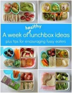 A Week of Healthy Lunch Ideas for  - 300 Bento Box Recipes - RecipePin.com