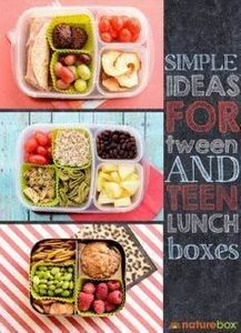 Simple Ideas For Teen Lunch Boxes  - 300 Bento Box Recipes - RecipePin.com