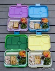 Zero waste, healthy school lunches - 300 Bento Box Recipes - RecipePin.com