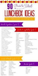 90 Back to School Lunchbox Ideas!  - 300 Bento Box Recipes - RecipePin.com