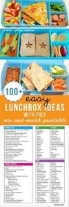 100+ Easy Lunchbox ideas with free - 300 Bento Box Recipes - RecipePin.com