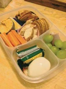 Busy Girl Bentos: Adult lunchables - 300 Bento Box Recipes - RecipePin.com