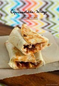 quesadilla wrap recipe - great to  - 300 Bento Box Recipes - RecipePin.com