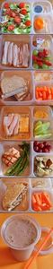 healthy lunch choices for six days - 300 Bento Box Recipes - RecipePin.com