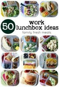50 healthy work lunch ideas | Men' - 300 Bento Box Recipes - RecipePin.com