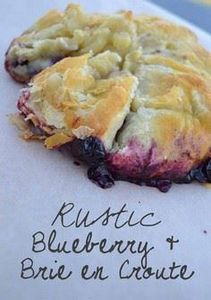 Highbush Blueberries + savory puff - 200 Delicious Blueberry Recipes - RecipePin.com