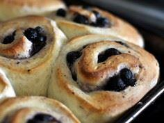 Blueberry Rolls! - 200 Delicious Blueberry Recipes - RecipePin.com