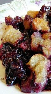 Quick and Easy Blueberry Betty - 200 Delicious Blueberry Recipes - RecipePin.com