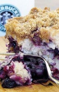 Blueberry Crumble Coffee Cake - 200 Delicious Blueberry Recipes - RecipePin.com