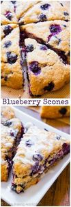 BEST Blueberry Scones recipe by sa - 200 Delicious Blueberry Recipes - RecipePin.com