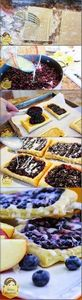 Wild Blueberry Breakfast Strudels  - 200 Delicious Blueberry Recipes - RecipePin.com