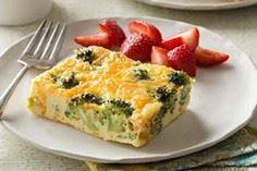 Easy Broccoli-Cheese Oven Omelet r - 220 Best Broccoli Recipes - RecipePin.com