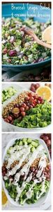 One of my favorite salads (p.s. it - 220 Best Broccoli Recipes - RecipePin.com