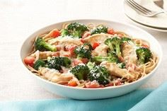 Chicken and broccoli are served on - 220 Best Broccoli Recipes - RecipePin.com