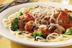Chicken Parmesan with Linguine and - 220 Best Broccoli Recipes - RecipePin.com