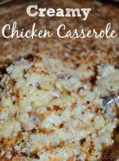 Comfort Food at its best! This Cre - 300 Casserole Recipes - RecipePin.com