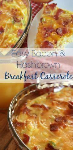 Looking for breakfast ideas? This  - 300 Casserole Recipes - RecipePin.com