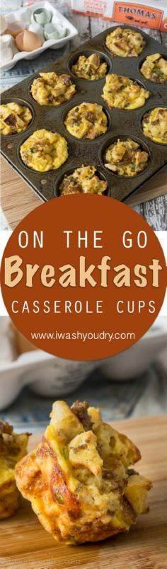On the Go! These Sausage Egg and C - 300 Casserole Recipes - RecipePin.com