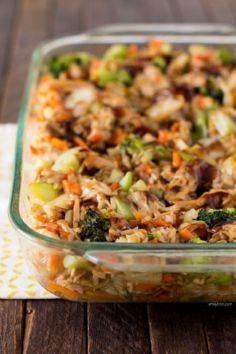 This Teriyaki Chicken and Rice Cas - 300 Casserole Recipes - RecipePin.com