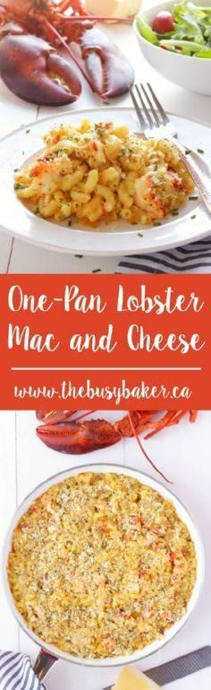 This One-Pan Lobster Mac and Chees - 300 Casserole Recipes - RecipePin.com