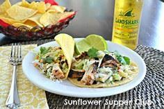 Chipotle Grilled Chicken Tacos wit - 300 Chicken Recipes - RecipePin.com