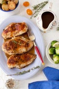 Pan-Roasted Chicken with Italian S - 300 Chicken Recipes - RecipePin.com